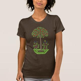 Árbol del amor camisetas