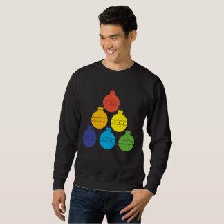 Árbol del arco iris del suéter del día de fiesta