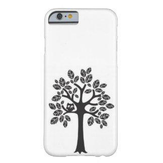 Árbol del búho funda de iPhone 6 barely there