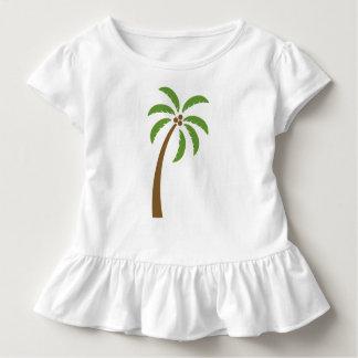 Árbol del coco del Caribe Camiseta De Bebé