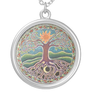Árbol del collar de la mandala de la vida