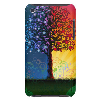 Árbol del día y de la noche iPod touch protectores