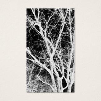 árbol del fantasma tarjeta de negocios