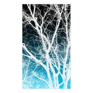 árbol del fantasma plantilla de tarjeta de negocio
