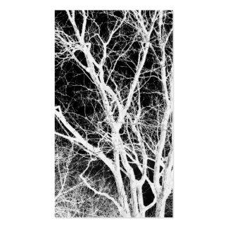 árbol del fantasma tarjetas de visita