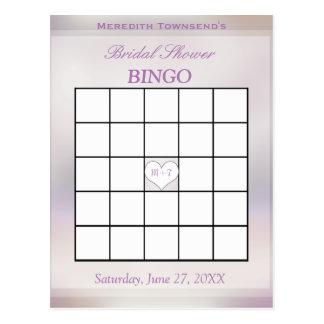 Árbol del juego el   del bingo de la vida postal