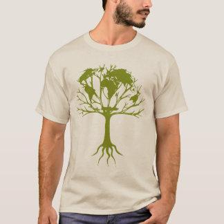 Árbol del mundo camiseta