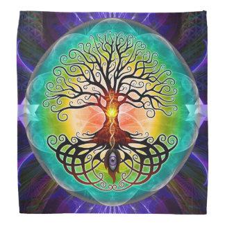 Árbol del pañuelo de la vida