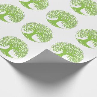 Árbol del papel de embalaje de la vida