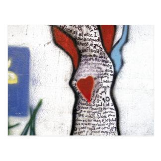 Árbol del poema de Wordsworth Postal