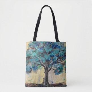 Árbol del trullo bolsa de tela