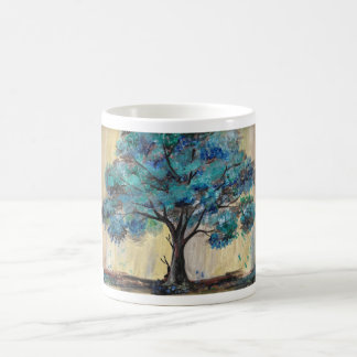 Árbol del trullo taza de café