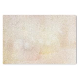 Árbol dorado de la nieve de los bulbos del navidad papel de seda