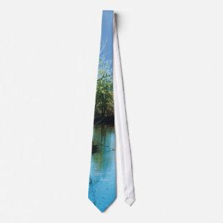Árbol - espejo - lazo corbata