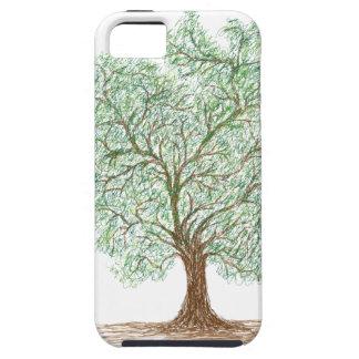 árbol funda para iPhone SE/5/5s