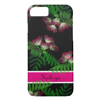 Árbol hermoso del Albizia de la flor del chino de Funda Para iPhone 8/7