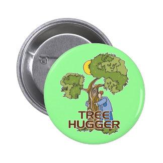 Árbol Hugger Chapa Redonda De 5 Cm