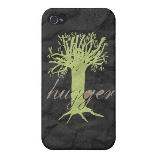 ÁRBOL HUGGER -- iPhone 4 FUNDA