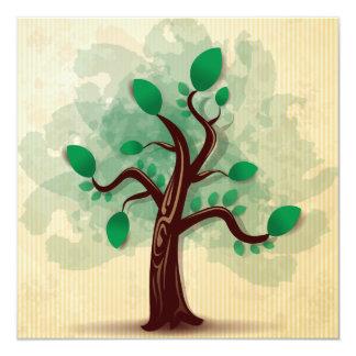 Árbol Invitación 13,3 Cm X 13,3cm