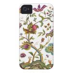 Árbol jacobeo del bordado de la lana para bordar d iPhone 4 Case-Mate cárcasa
