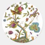 Árbol jacobeo del bordado de la lana para bordar d pegatinas