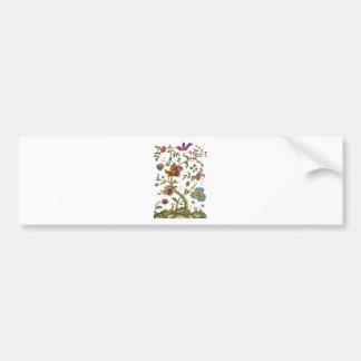 Árbol jacobeo del bordado de la lana para bordar d etiqueta de parachoque
