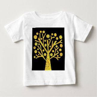 Árbol mágico amarillo camiseta de bebé