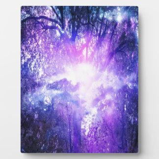 Árbol místico placa expositora