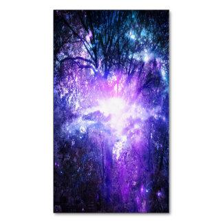 Árbol místico tarjeta de visita magnética