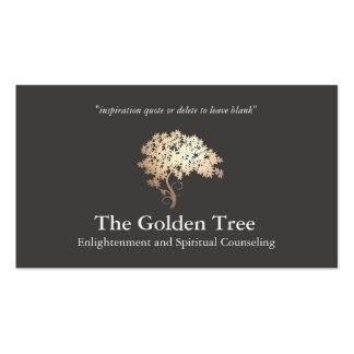 Árbol natural y alternativo de la salud y de la tarjetas personales