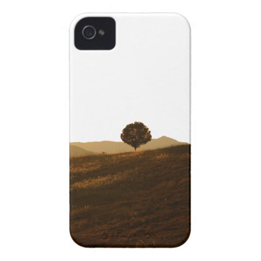 Árbol solo Case-Mate iPhone 4 cárcasas