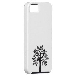 Árbol y búho iPhone 5 carcasa
