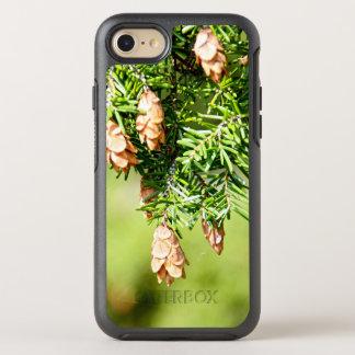 Árbol y conos de pino funda OtterBox symmetry para iPhone 8/7