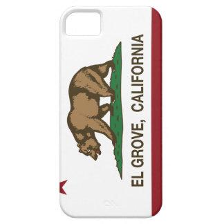 Arboleda del EL de la bandera de la república de C iPhone 5 Carcasa