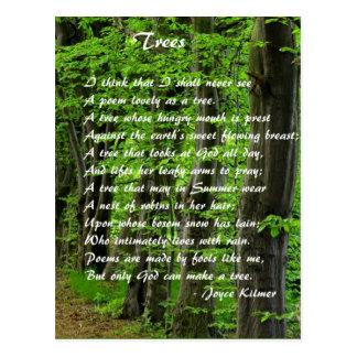 Árboles cerca: Joyce Klimer Postal