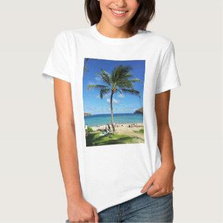 Árboles de coco camisas