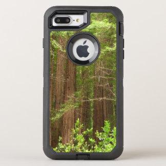 Árboles de la secoya en el monumento nacional de funda OtterBox defender para iPhone 8 plus/7 plus