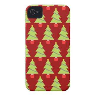 Árboles de navidad carcasa para iPhone 4 de Case-Mate