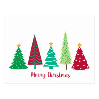 Postales navidad moderno tarjetas postales - Arbol navidad moderno ...