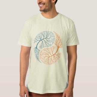 Árboles de Yin Yang Camisas