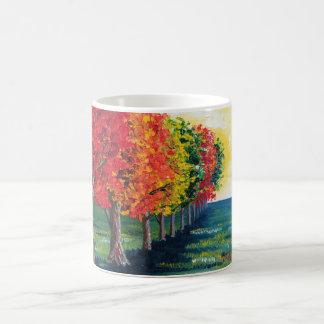 """Árboles del otoño 1"" taza"