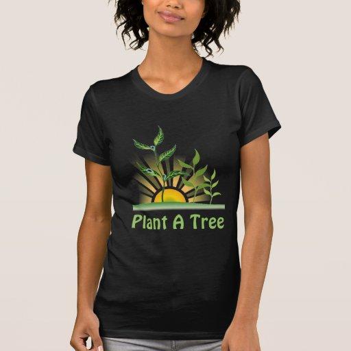Árboles futuros camiseta