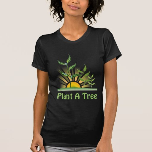 Árboles futuros camisetas