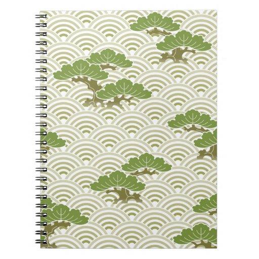 Rboles japoneses de los bonsais libro de apuntes zazzle - Libros de bonsais ...