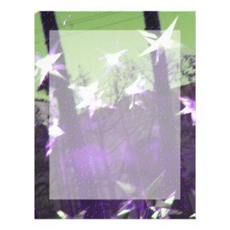 Árboles y extracto de las estrellas folleto 21,6 x 28 cm