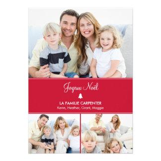 Arbre cartes de photo de vacances modernes anuncio personalizado
