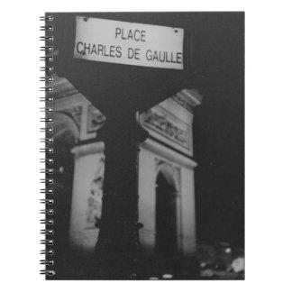 Arc de Triomphe Paris Place Charles de Gaulle Lomo Libretas