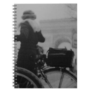 Arc de Triophe Paris Champs Elysees Lomo LCA analo Libros De Apuntes Con Espiral