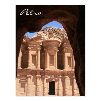 arcada del monasterio del petra tarjetas postales