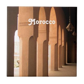 Arcadas en Marruecos Teja